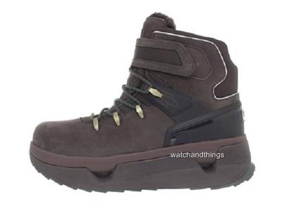 new ugg australia hearst brown leather s winter hiking