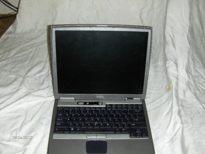 Dell Latitude D600 Laptop Notebook Computer 1 Gig RAM DVD