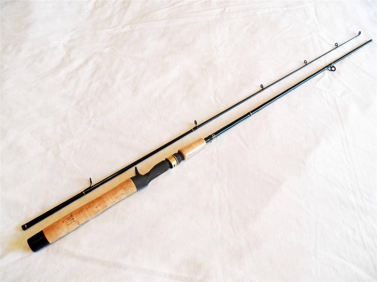 Cabela 39 s fish eagle ii medium casting rod 2 pc 6 39 6 for Cabela s fishing poles