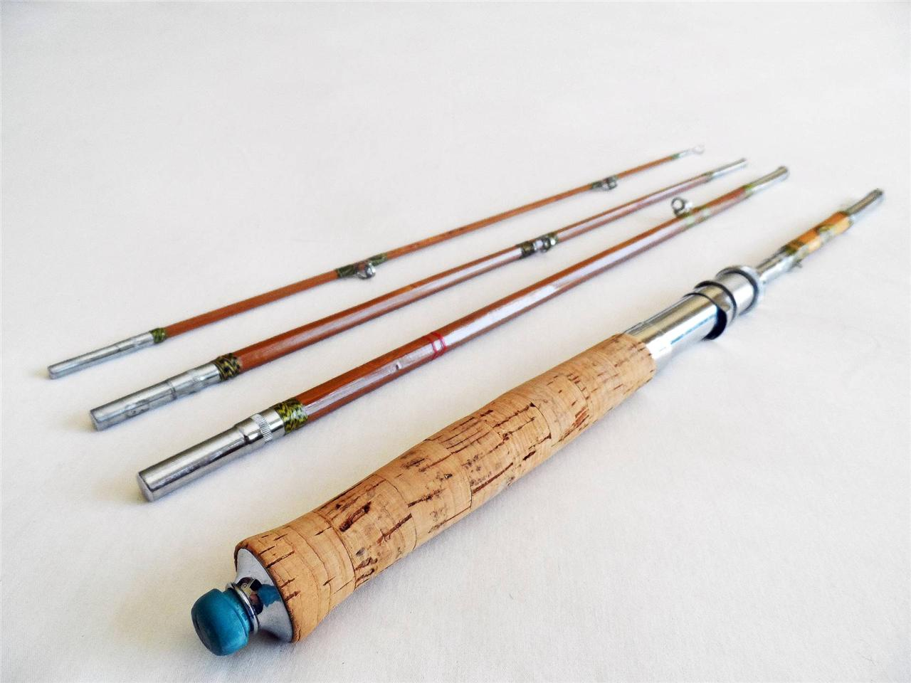 Bamboo fly rods deals on 1001 blocks for Old fishing rods