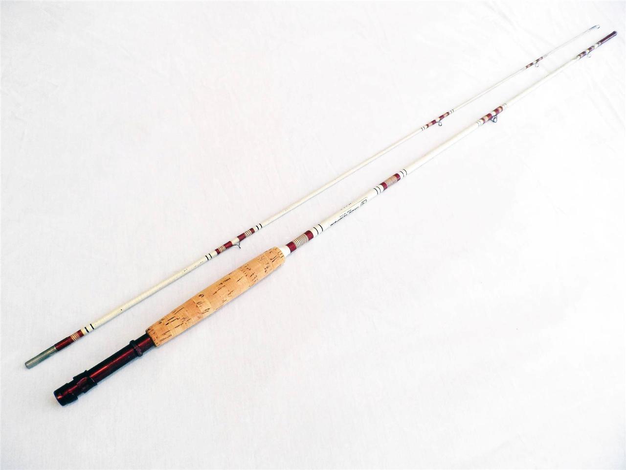 True Temper 1255b Vintage Fly Rod 6 Weight 2 Piece