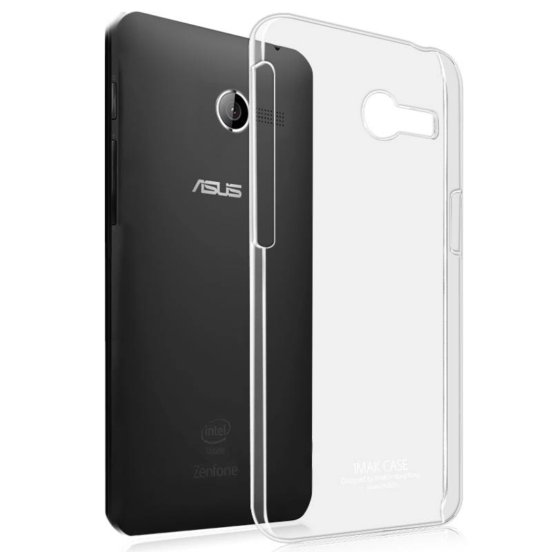Imak Crystal Transparent Shell Hard Case Cover Back For Asus ZenFone 4 A400CG