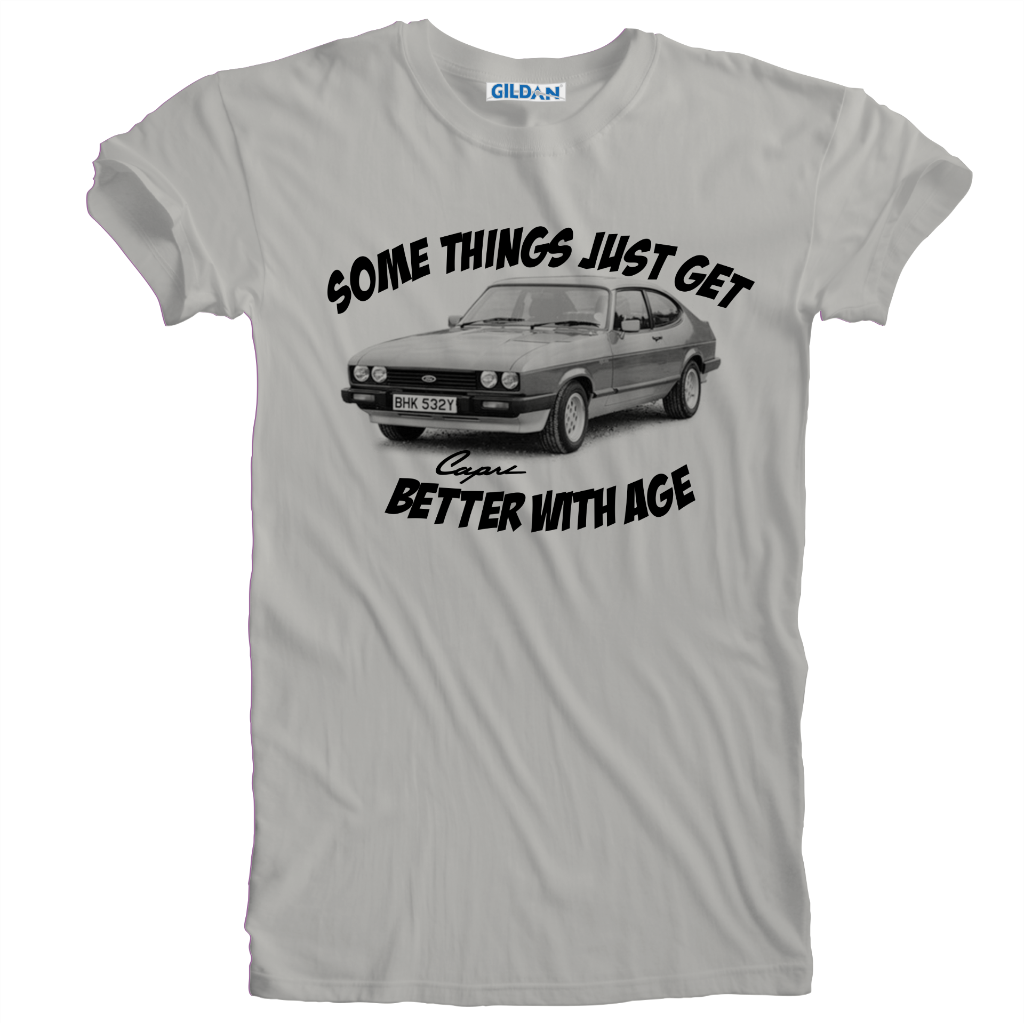 New-Humorous-Capri-Motor-Auto-Better-With-Age-Birthday-T-Shirt-Sizes-S-to-5XL