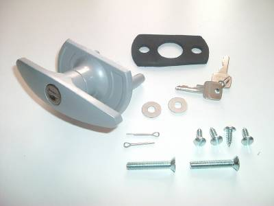NEW HENDERSON Garage Door LOCK parts 35mm SHORT SHAFT