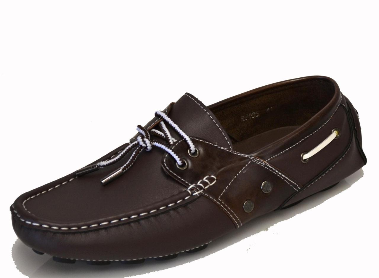 mens boat shoes light brown coffee loafer casual oxfords