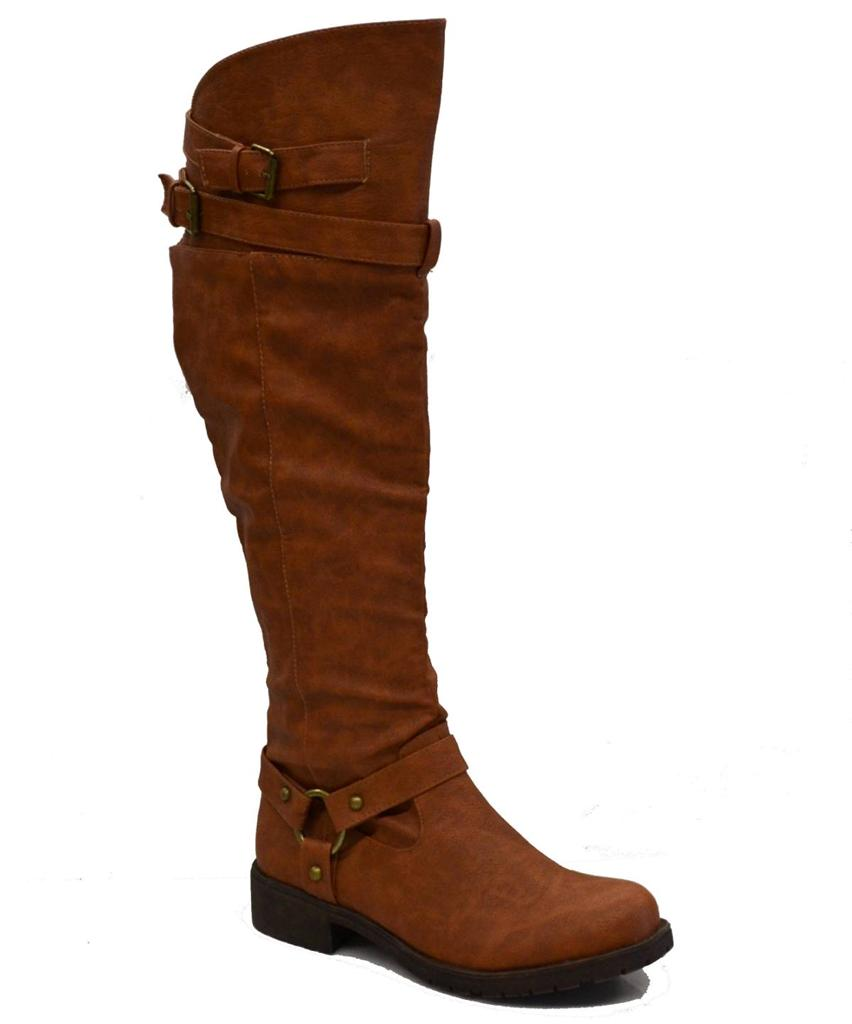 womens the knee high boots w flat heel high quality