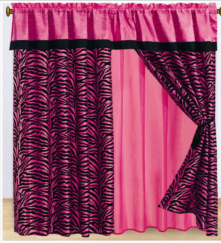 Pink Cheetah Print Curtains Lilac Print Curtains
