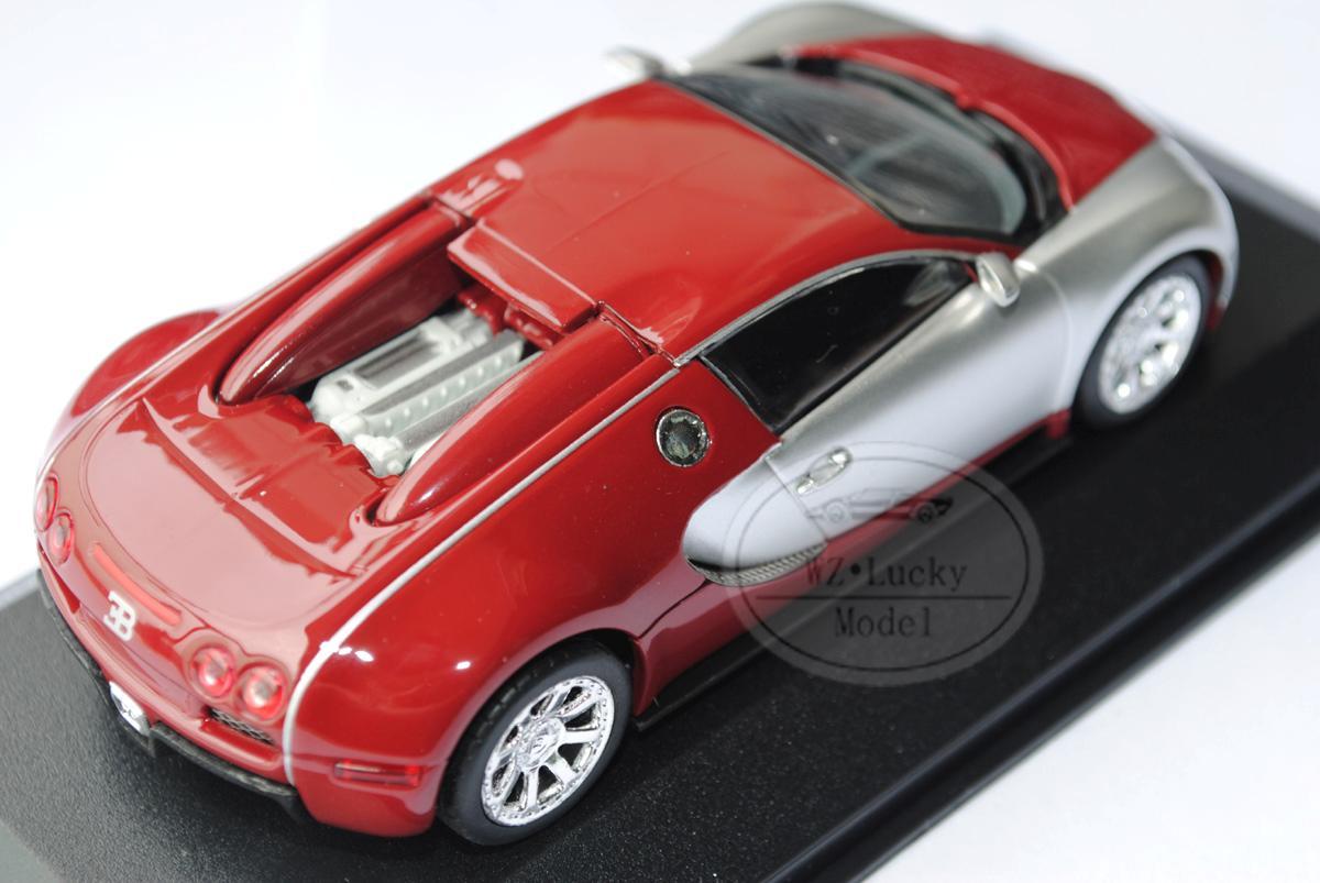 minichamps 1 43 bugatti veyron centennaire 2009 diecast model red 400110851. Black Bedroom Furniture Sets. Home Design Ideas
