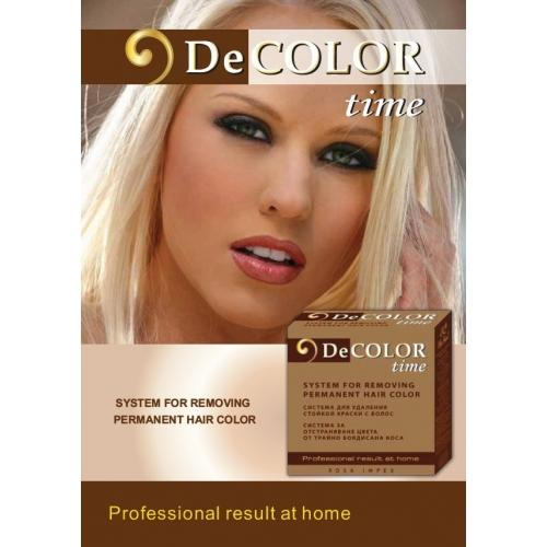 DECOLOR HairColor RemoverSystem For Colour Removal From A Permanently Dyed H