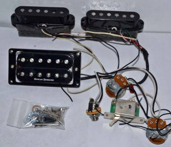 single humbucker wiring diagram for humbucker jackson dk2 skull guitar pickups & wiring harness duncan ... jackson humbucker wiring diagram