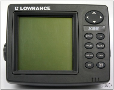 lowrance x96 fish finder / depth finder untested - as-is | ebay, Fish Finder