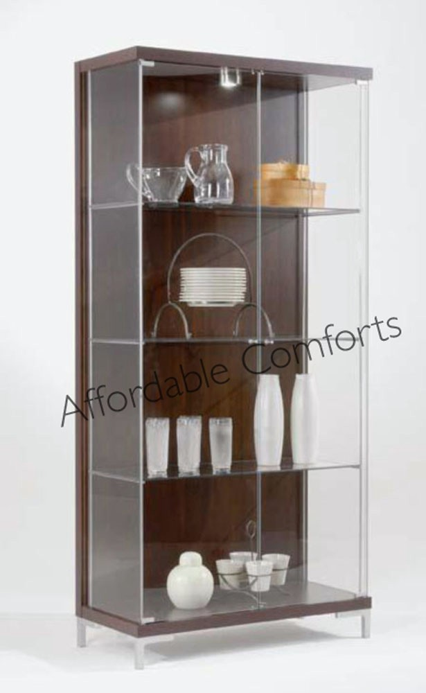 Large Glass Display Cabinet LED Shelf Lighting Singles & Doubles Uk's Exclusive