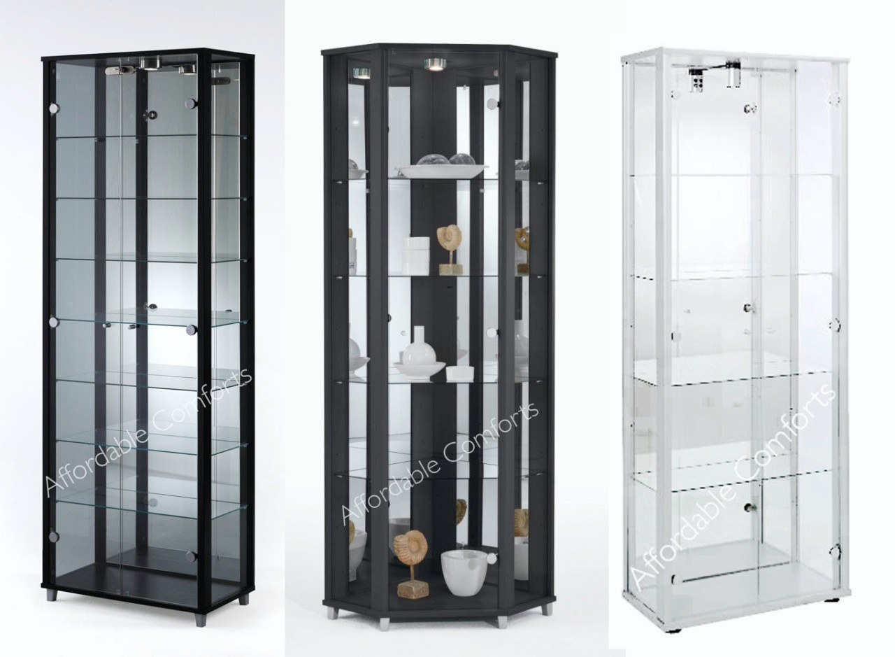 #7F674D Single Double & Corner Black Or White Glass Display  with 1280x939 px of Best Glass Display Cabinets Nz 9391280 image @ avoidforclosure.info