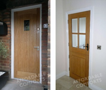 details about external solid wood oak cottage door oak stable door