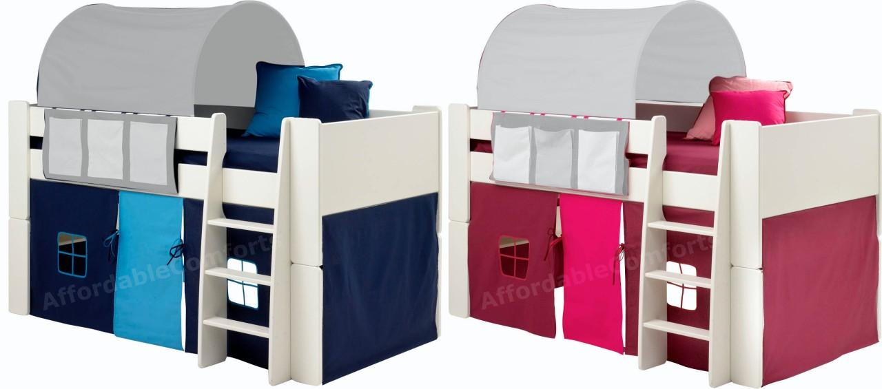 Children Mid Sleeper Beds Midsleeper Midi & Childrens Mid Sleeper Beds With Tents - Best Tent 2018