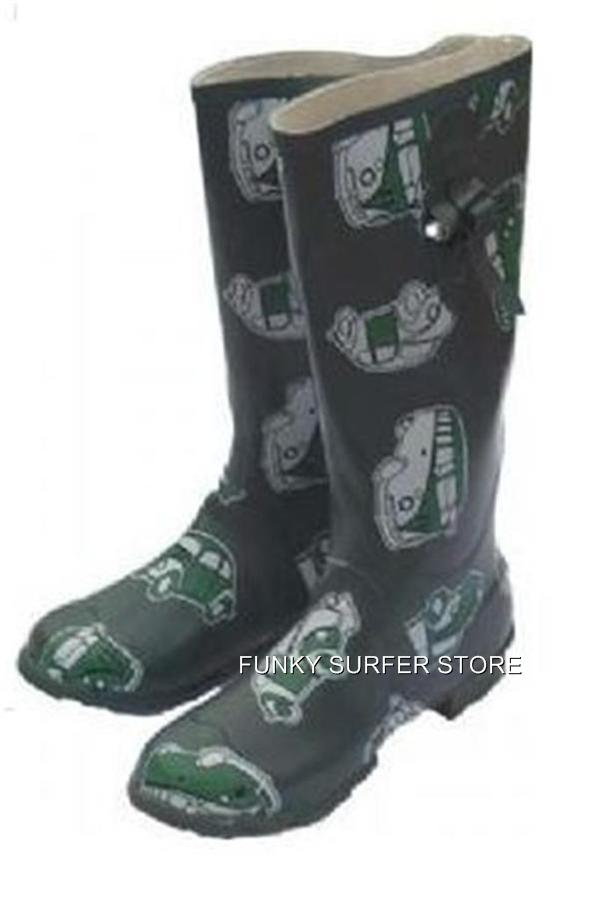 MENS-WOMENS-WELLIES-WELLINGTONS-BOOTS-GREEN-RUBBER-CAMPER-FESTIVAL-WELLIES-7