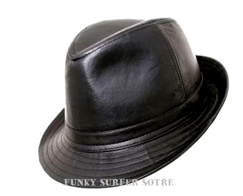 High Quality Crushable Hand Made Gents Indiana 100% Wool Felt Fedora Trilby Hat With Wide Band