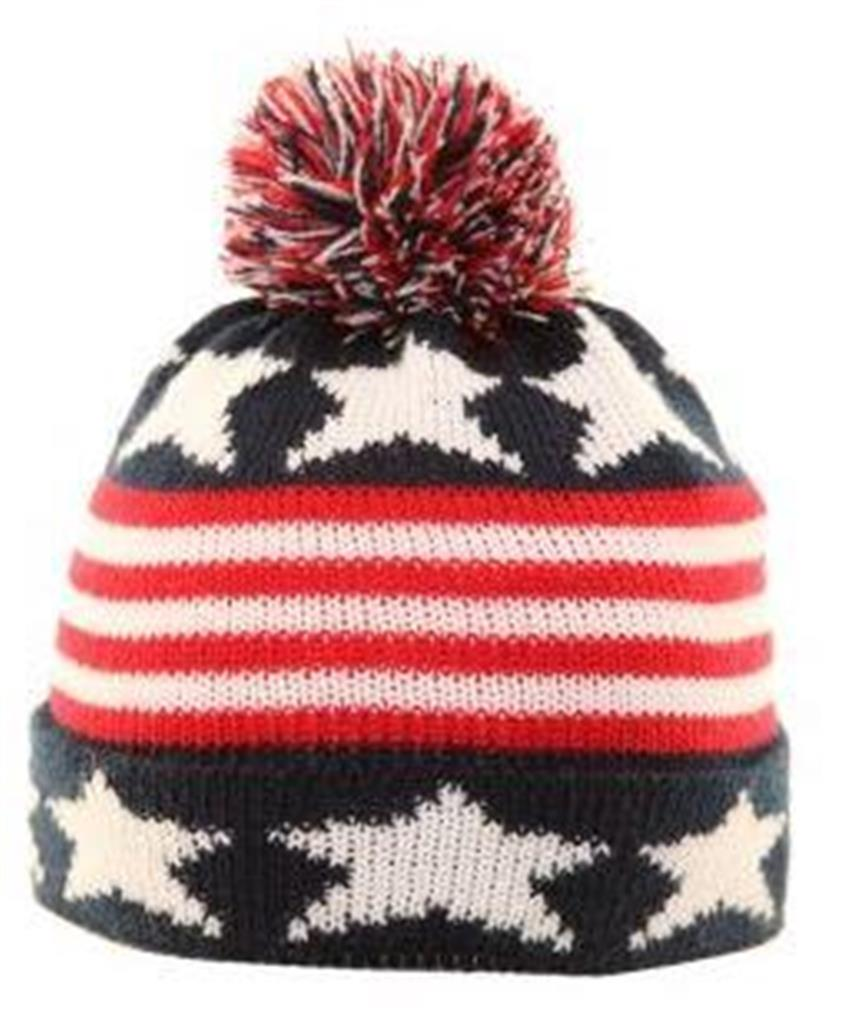 BOYS BEANIE HATS THICK KNITTED WOOLY POM POM BOBBLE SKI WINTER HATS