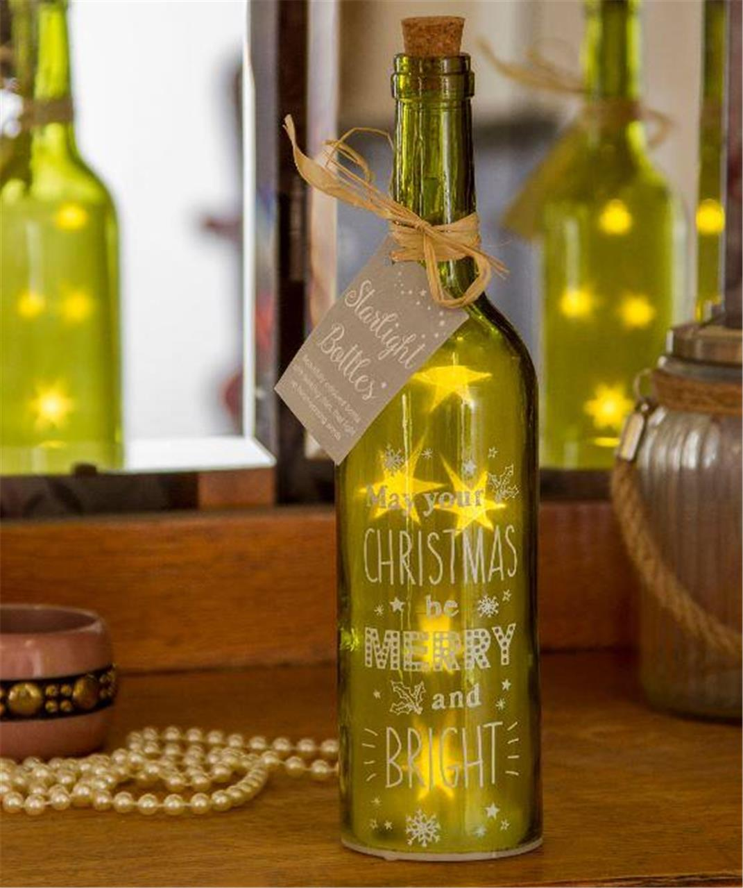 starlight bottles led light up wine bottle accessories