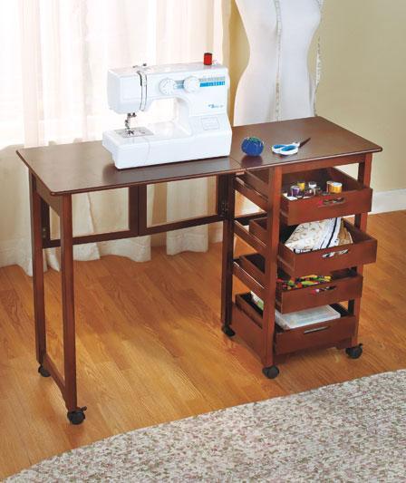 Fold Away Desk Walnut Black Or White Folds Up And