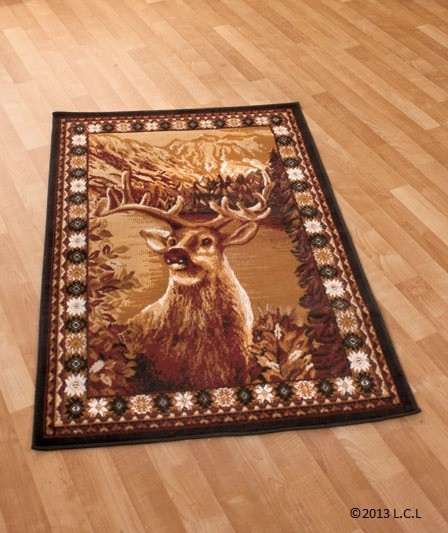 Game Area Rugs: 3 Sizes Including Round Or