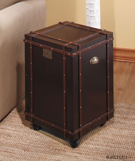Wooden Trunk Coffee Or Side Tables Table And Storage In One Ebay