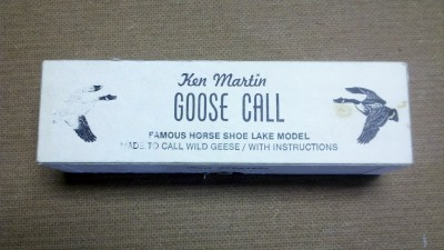 Martin GOOSE Call Lemont Illinois w Box Hunt Decoy Duck Crow | eBay