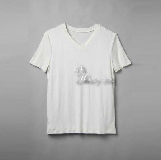 gift men 39 s 100 silk knitted v neck t shirts shirts top u s m l xl. Black Bedroom Furniture Sets. Home Design Ideas
