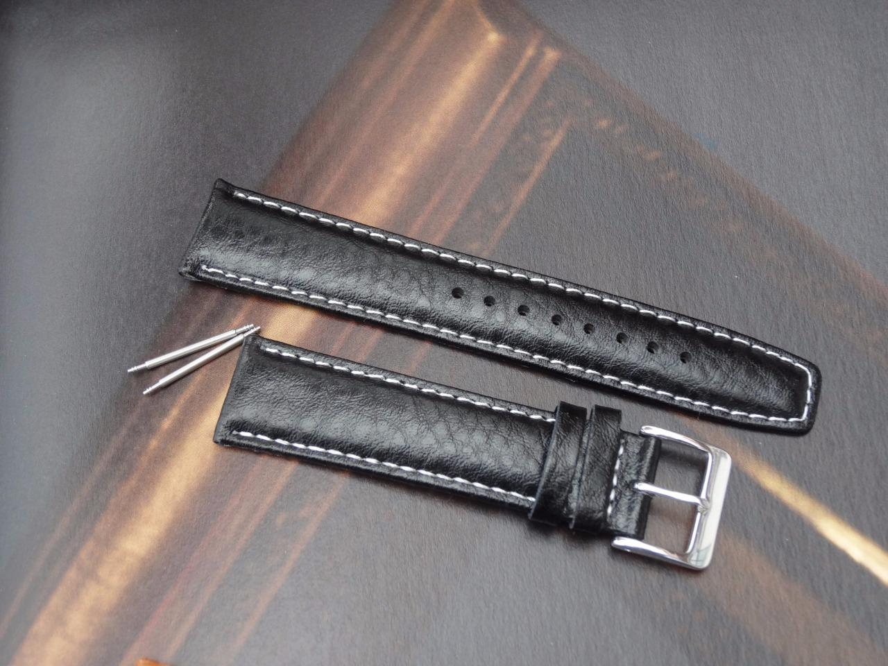 Quality classic genuine padded leather strap band watchband for longines watch ebay for Longines leather strap