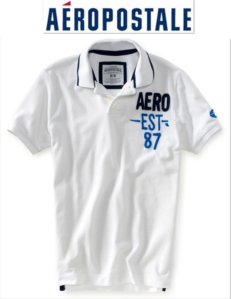 Aeropostale (sometimes known as AERO) is an independent American retailer specializing in casual apparel for young men and women. They sell a wide selection of dresses & skirts, shoes, jeans, yoga and other workout clothing, and also have a line of clothing called PS for kids and pre-teens.