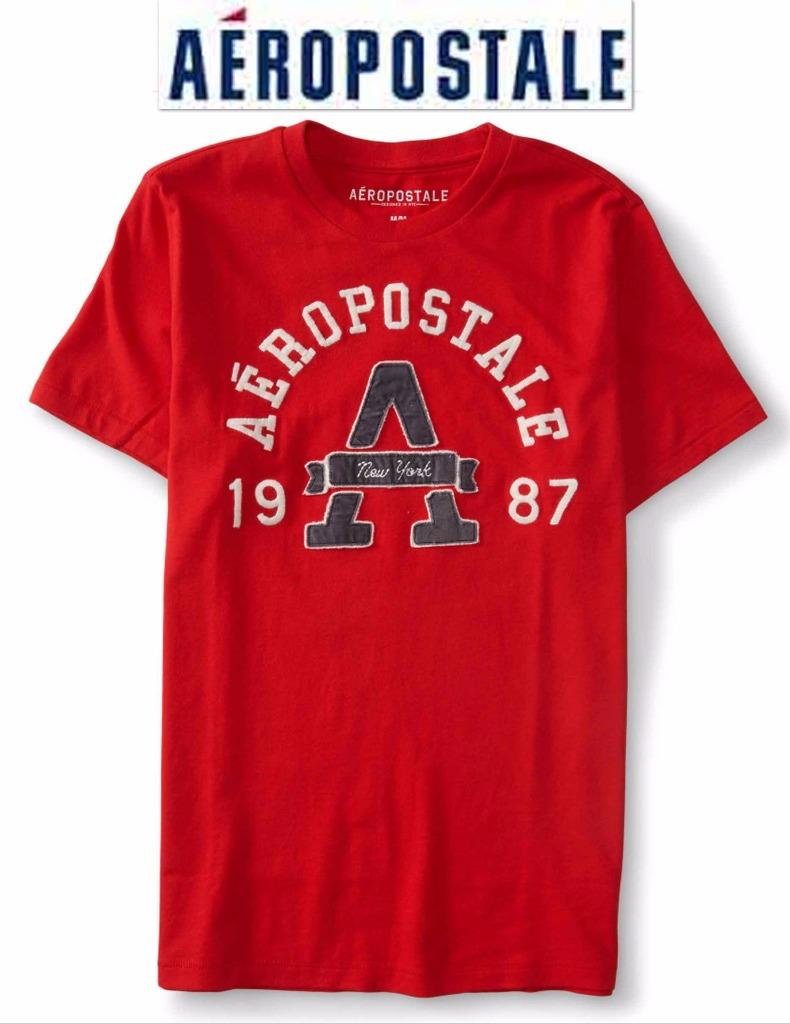 NWT Aeropostale Men 3XL Appliquéd Graphic T Shirt XXXL ...