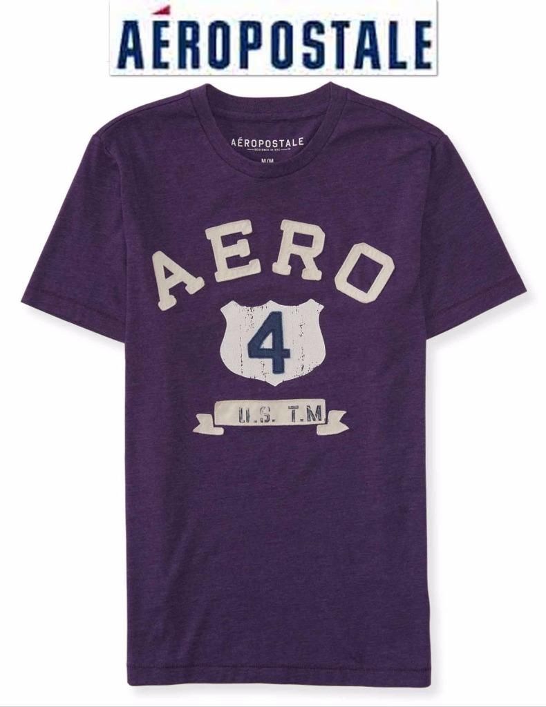 NWT Aeropostale Men 3XL Appliquéd Graphic T Shirt XXXL ...