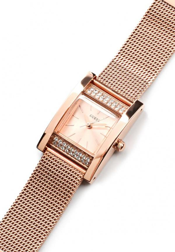 AUTHENTIC GUESS W0127L3 ROSE GOLD CRYSTAL WOMEN'S WATCH ...