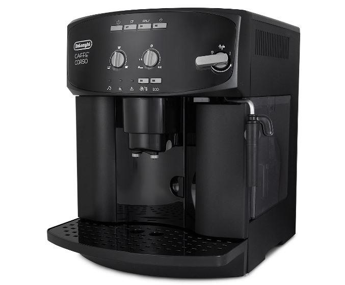d longhi esam2600 magnifica auto cappuccino espresso latte black coffee machine ebay. Black Bedroom Furniture Sets. Home Design Ideas