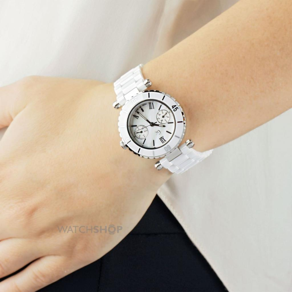 Guess Collection GC I35003L1S Swiss Made Shapphire White ...
