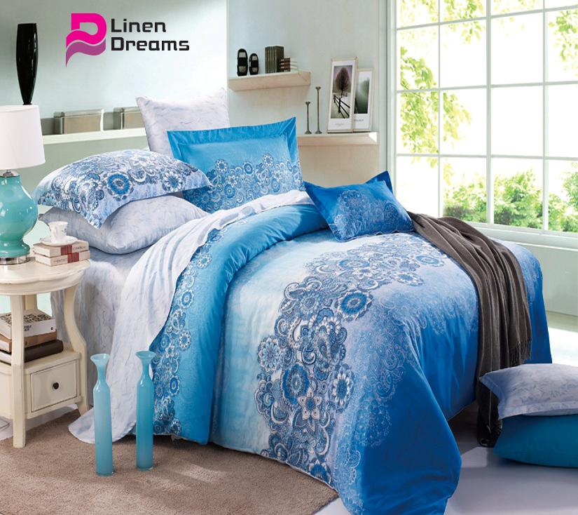 Bedding sets 4pcs bed duvet quilt covers comforters for for Bed set with mattress for sale
