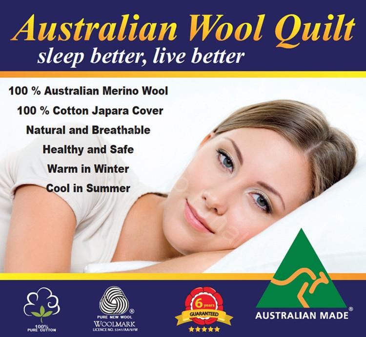 Australian Made Light Weight Luxury Merino Summer Wool