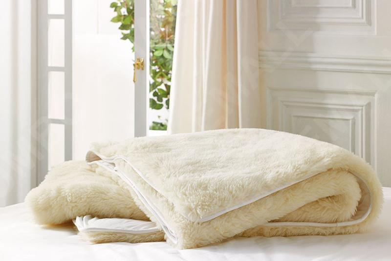 Aus Made Queen Size Luxury 100 Pure Wool Underlay