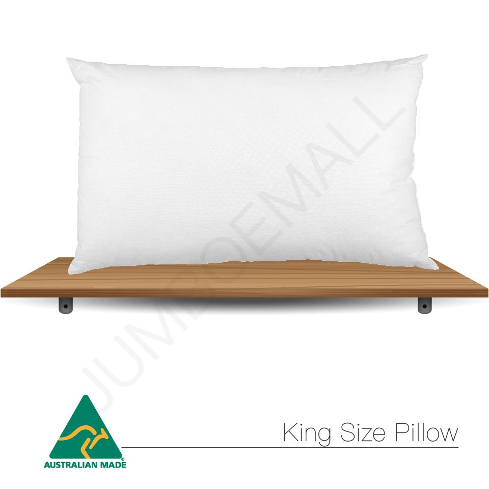 Aus made standard v shape tri boomerang body king size for Dreamfinity king size pillow