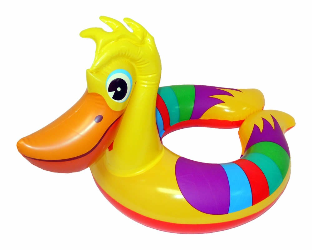 Details About Animal Inflatable Swim Rings Swimming Tubes Pool Floats