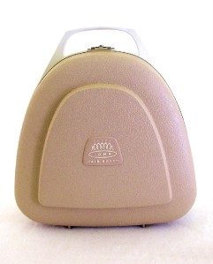 vintage iona hair dryer w case cord cap. Black Bedroom Furniture Sets. Home Design Ideas