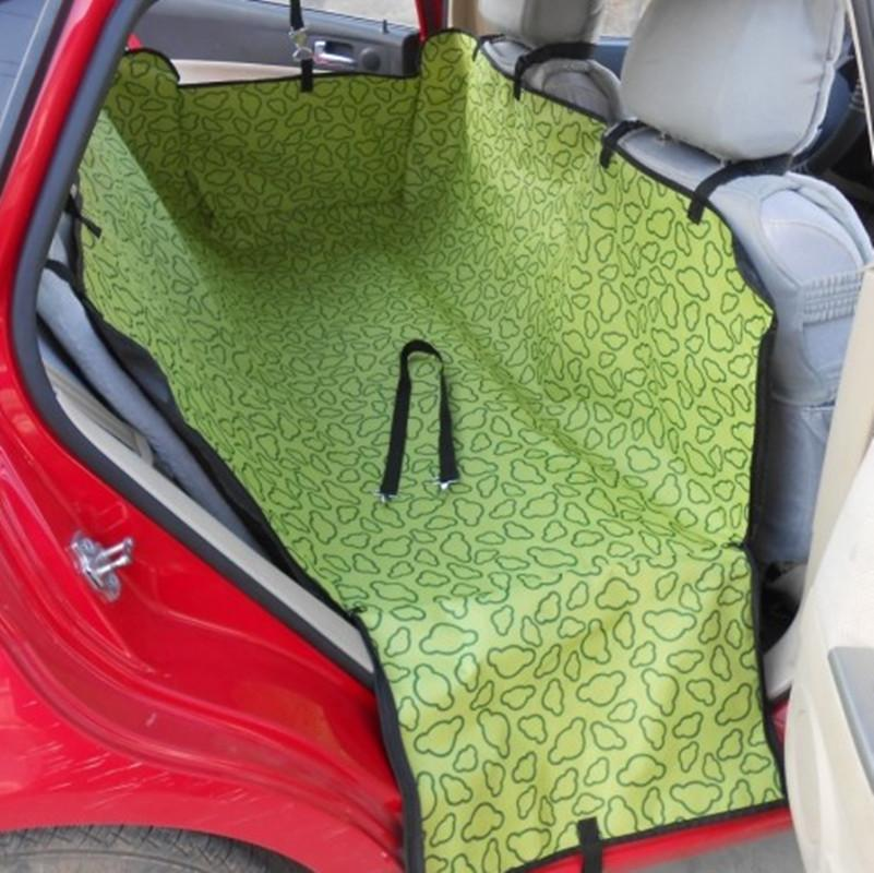 New Dog Cat Car Seat Pet Cover Rear Back Seat Protector