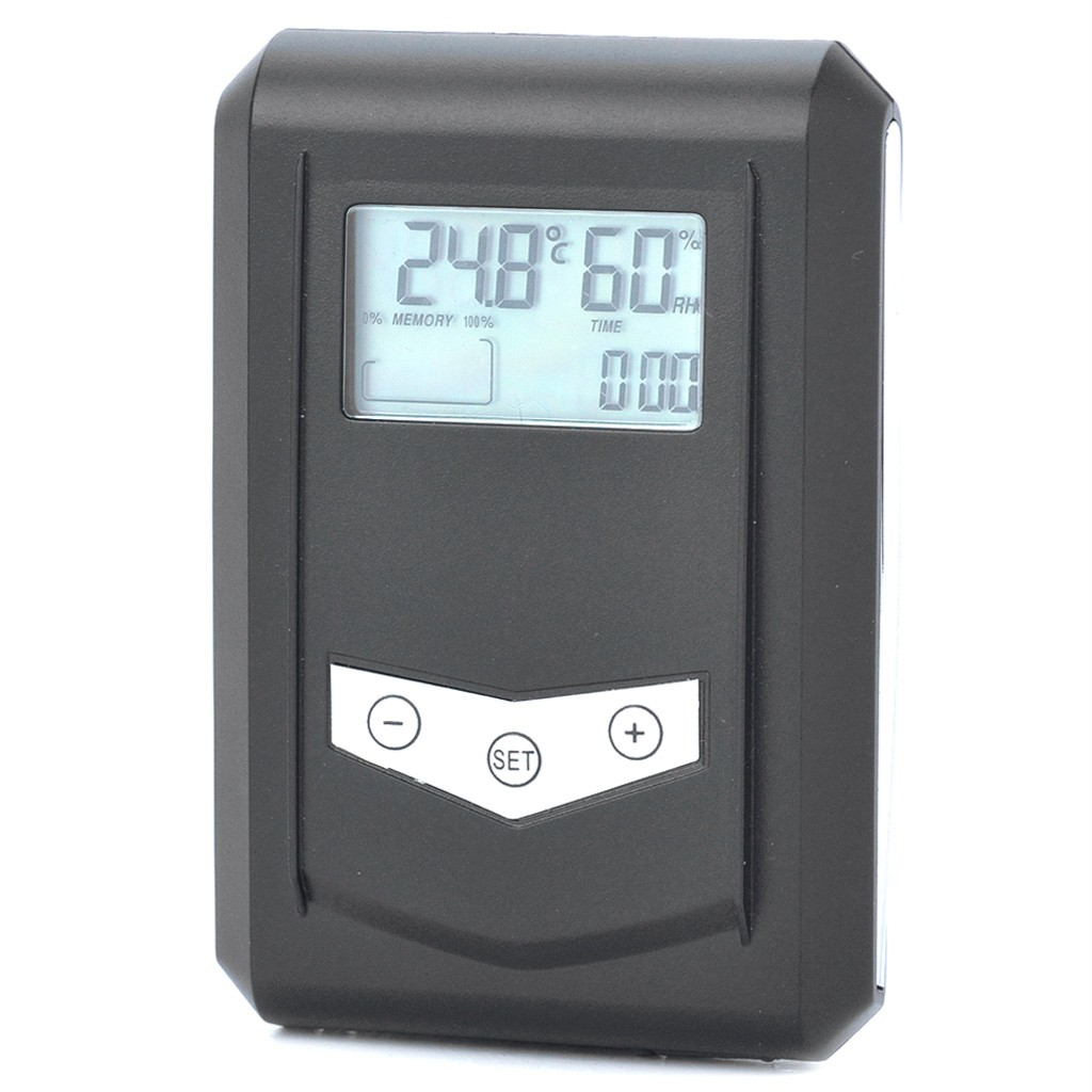 LCD USB Temperature and Humidity Data Logger Monitor Thermometer  #3D7A8E