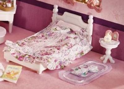 Calico Critters Lavender Bedroom Set Girls s Furniture Bed