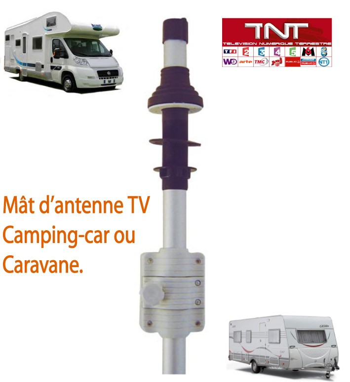 mat d 39 antenne tv pour camping car ou caravane ebay. Black Bedroom Furniture Sets. Home Design Ideas