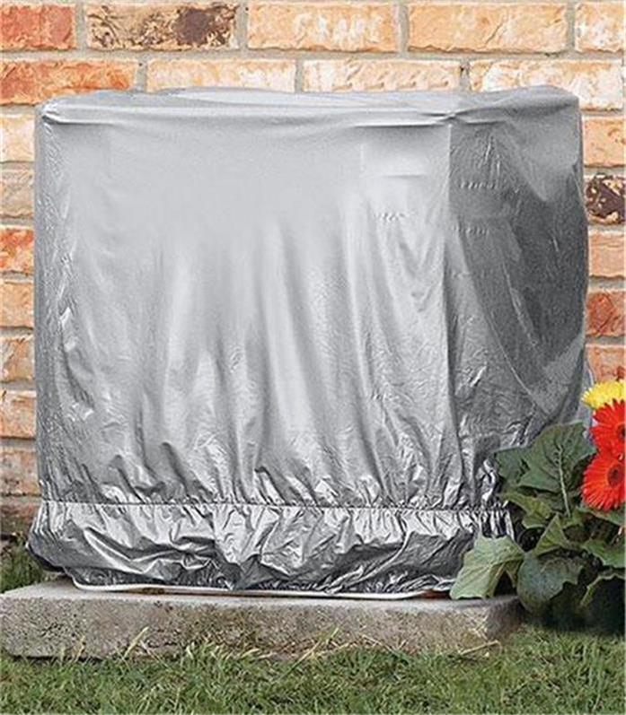 Ground window air conditioner unit protective cover snug for Ground air conditioner