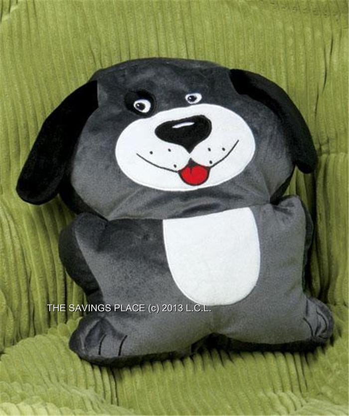 Animal Microbead Pillows : SOFT CUSHY ANIMAL-SHAPED MICROBEAD PILLOW - DOG, HIPPO, MONKEY OR FROG-ADORABLE! eBay