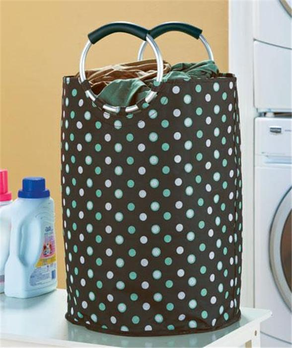 Honey-Can-Do LBGZ 3-Pack Nylon Laundry Bag White. Lighten Honey-Can-Do LBGZ 3-Pack Nylon Laundry Bag White. Lighten your load with a drawstring laundry bag from Honey-Can-Do. Made from easy-to-clean nylon this large capacity bag is durable and machine washable.