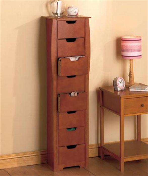 8 Drawer Wooden Bathroom Bedroom Entryway Slim Space Saving Storage Cabinet Unit Ebay