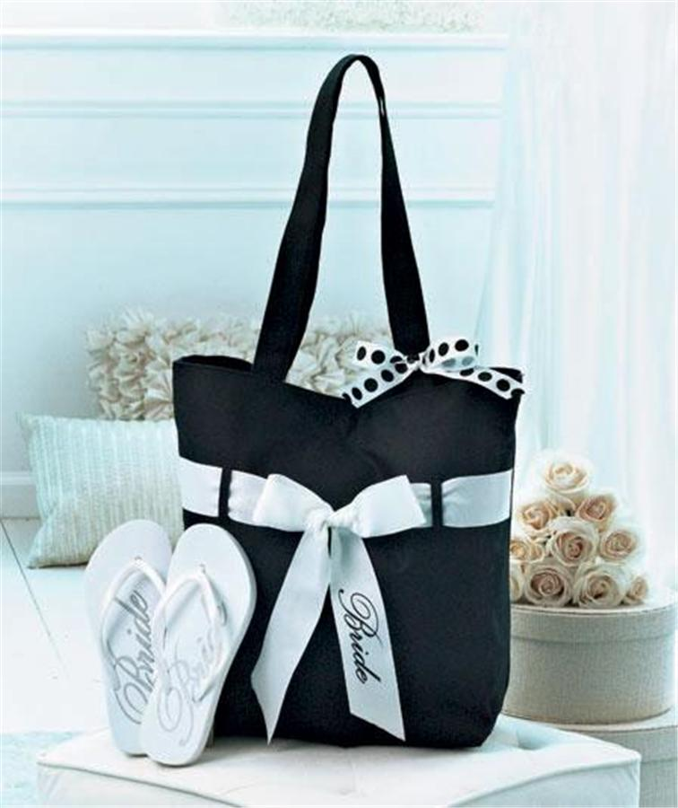 Wedding Gift Bags For Bridal Party : WEDDING-PARTY-GIFT-TOTE-BAG-FLIP-FLOP-SET-BRIDE-BRIDESMAID-AND-OR-MAID ...